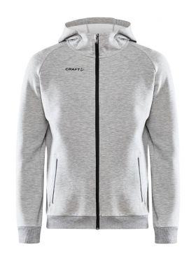 Core Soul Full Zip Hood M Grey Melange