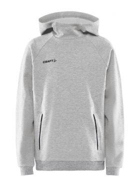 Core Soul Hood Sweatshirt Jr Grey Melange