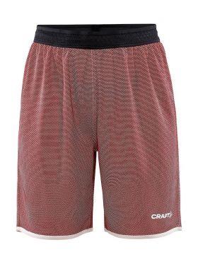 Progress Reversible Basket Shorts W Bright Red/White