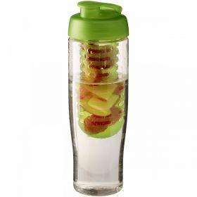 H2O Tempo® 700 ml sportsflaske og infuser med flipp-lokk Lime