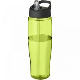H2O Tempo® 700 ml sportsflaske med tut-lokk Solid svart