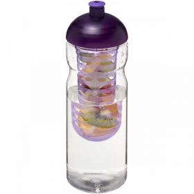 H2O Base® 650 ml sportsflaske og infuser med kuppel-lokk Lilla