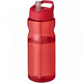H2O Base® 650 ml sportsflaske med tut-lokk Rød