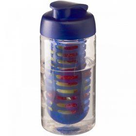 H2O Bop® 500 ml sportsflaske og infuser med flipp-lokk Blå
