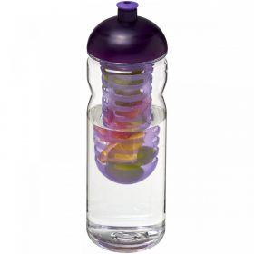 H2O Base Tritan™ 650 ml sportsflaske og infuser med kuppel-lokk Lilla