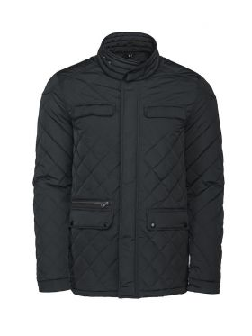 Huntingview Quilted Jacket Black