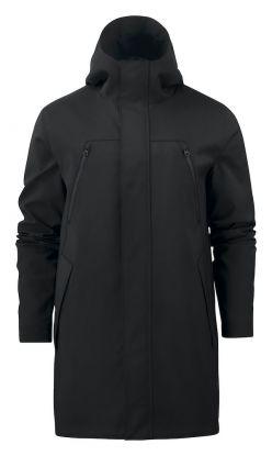 Hurstbridge City Coat Black