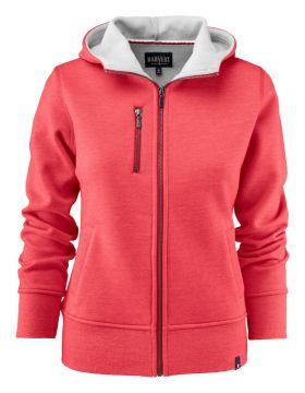 Parkwick Hooded Lady Jacket Red Melange