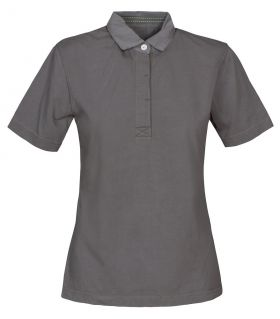 Amherst Collar T Lady Faded Grey
