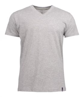 American V T-shirt Ash