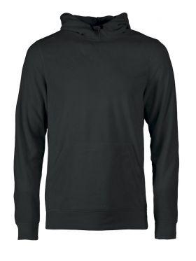Switch fleece hoodie Black