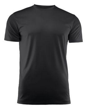 Run Active T-Shirt Black