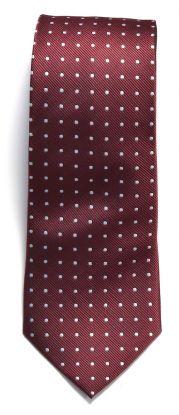 JH&F Tie Dot Red/White