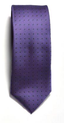 JH&F Tie Dot Navy/Purple