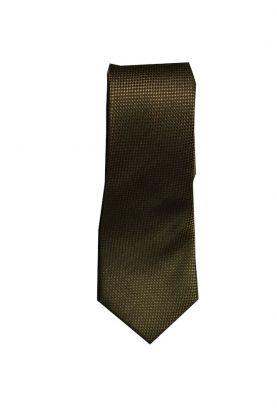 JH&F Tie Silk Oxford Brown