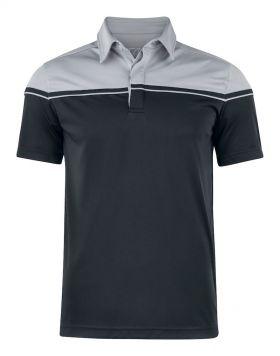 Seabeck polo Men Black/Light Grey
