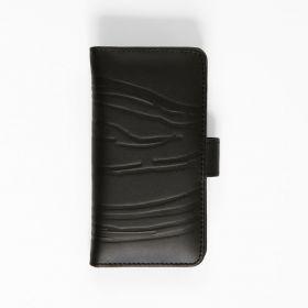 LEATHER iPhone7 case. Scream. Black