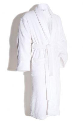 Frotte badekåpe 445g White