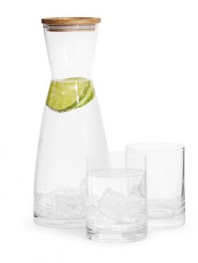Karaffel & 2-pk glass