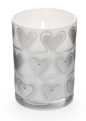 Heart scent candle