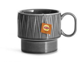 Coffee & More tekrus, grå