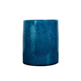 Vase/Lyslykt Calore Large, Blå