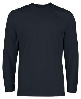 2017 T-Shirt med lang arm Black