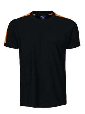 2019 T-Shirt Black/Orange