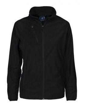 2326 Microfleece jakke Dame Black