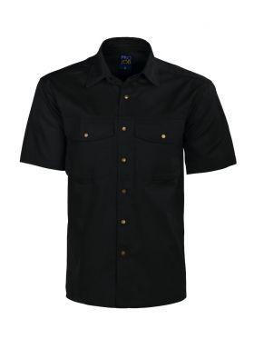4201 Skjorte Black