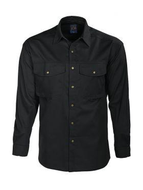 5203 Skjorte Black
