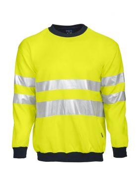 6101 Sweatshirt Kl 3 Yellow/Navy