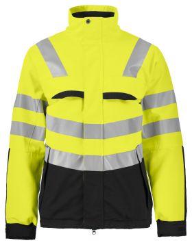 6415 Jakke Kl 3/2 Yellow/Black