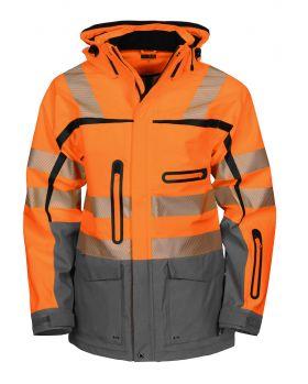 6417 Funksjonsjakke Kl 3/2 Orange/Grey