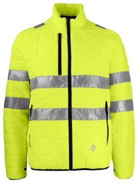 6444 JAKKE EN ISO 20471 KLASSE 3 Yellow/Black