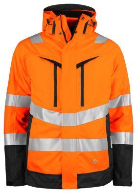 6445 FUNKSJONSJAKKE 3-i-1 EN ISO 20471 KLASSE 3/2 Orange/Black