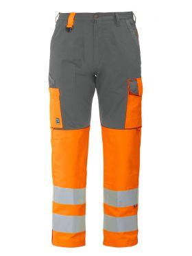 6501 Servicebukse Kl 2 Orange/Grey