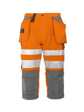 6510 Piratbukse Kl 2 Orange/Grey
