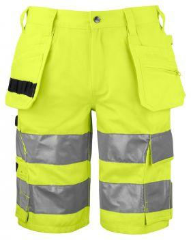 6535 SHORTS EN ISO 20471 KLASSE 2/1 Yellow/Black