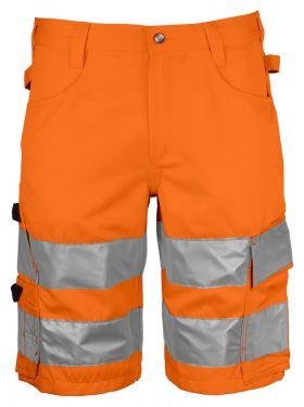 6536 Serviceshorts ENISO 20471 Klasse 2/1 Orange/Black