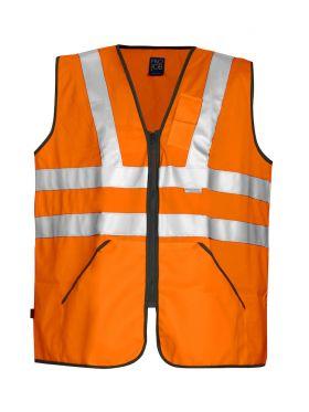 6702 Refleksvest Kl 3 Orange