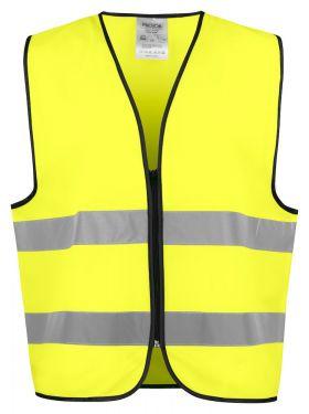 6709 VEST EN ISO 20471 KLASSE 2 Yellow/Black