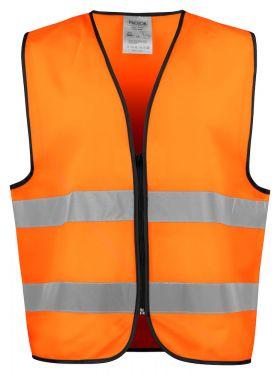 6709 VEST EN ISO 20471 KLASSE 2 Orange/Black