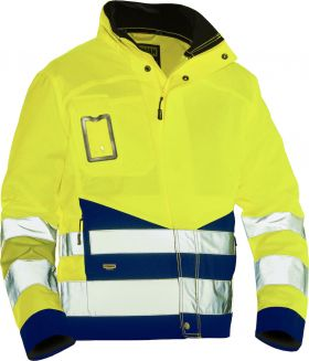 1231 Håndverksjakke varsel Yellow/Navy