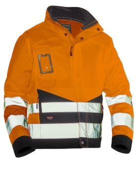 1231 Håndverksjakke varsel Orange/Black