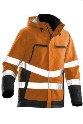 1383 Vinterjakke varsel Orange/Black