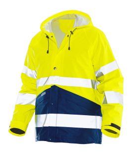 1566 Regnjakke varsel Yellow/Navy