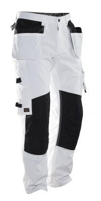 2129 Malerbukse White/Black