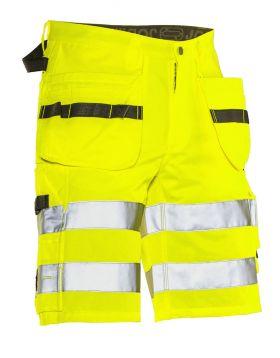 2207 Håndverksshorts varsel Yellow