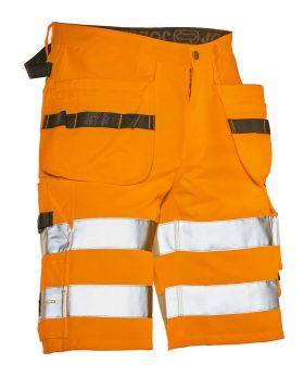 2207 Håndverksshorts varsel Orange